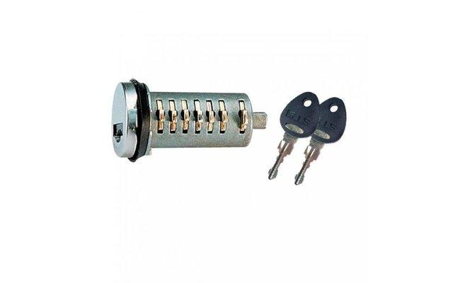 3 Zylinder + 2 Schlüssel