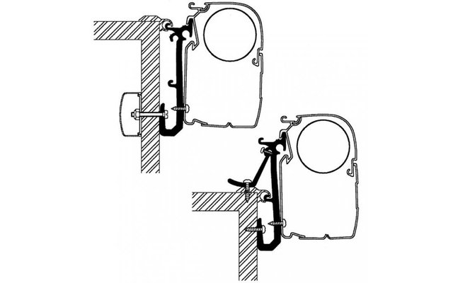 Thule Caravan Adapter