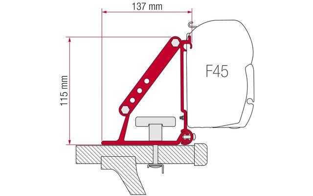 Fiamma Halterung Kit Auto F35 Pro Dachmontage