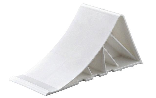 Tripus Unterlegkeil Weiß