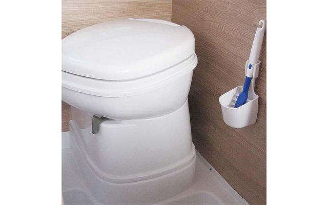 Mini Toilettenbürste mit Wandhalterung