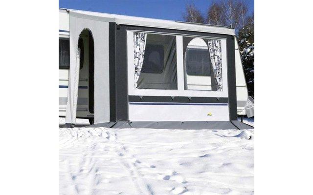 DWT Cortina II Ganzjahresvorzelt Grau 220 x 180 cm