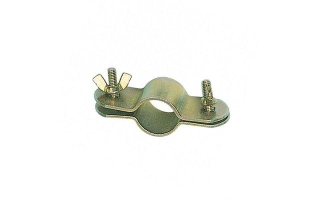Berger Doppelrohrschelle gold 2er Pack 22 - 25mm