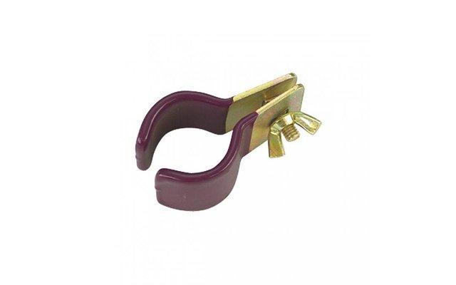 Berger Rohrschelle gummiert 5er Pack 25 - 28mm