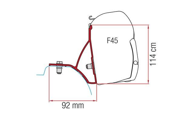 Fiamma Kit Renault Trafic ab 2015