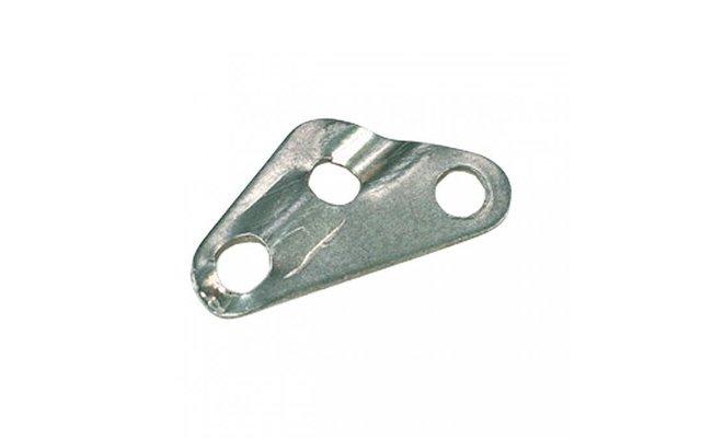 Berger Schnurspanner 3-Loch Aluminium Ø 6,0 mm (10er Set)