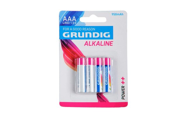 Grundig Alkaline Batterie Micro AAA