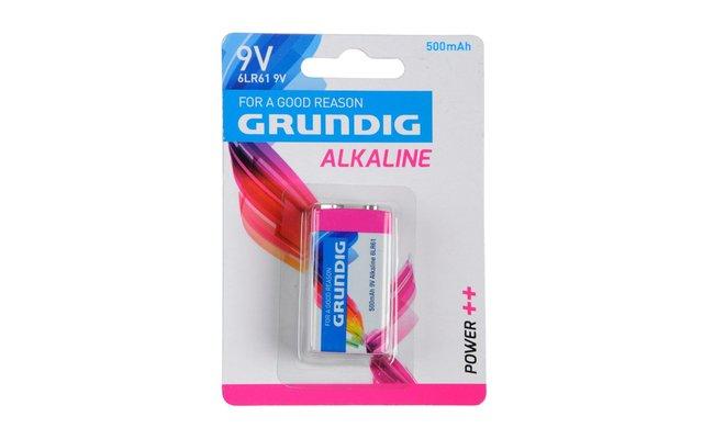 Grundig Alkaline Batterie E-Block 9V / 500 mAh