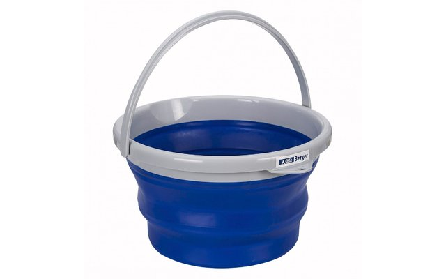 Berger Falteimer blau 10 Liter