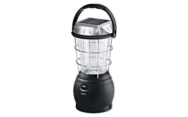 Berger Multifunktions Zeltlampe (Laden per Ladekabel, Solar oder Kurbel)