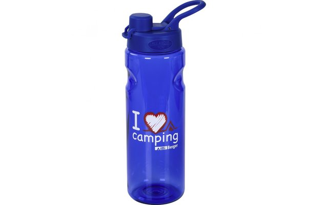 Berger Trinkflasche I love Camping 0,75 l