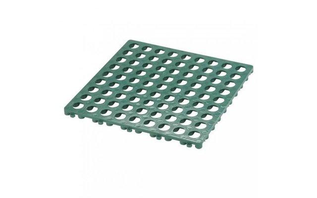 Kunststoffrost grün 49,5 x 49,5 cm