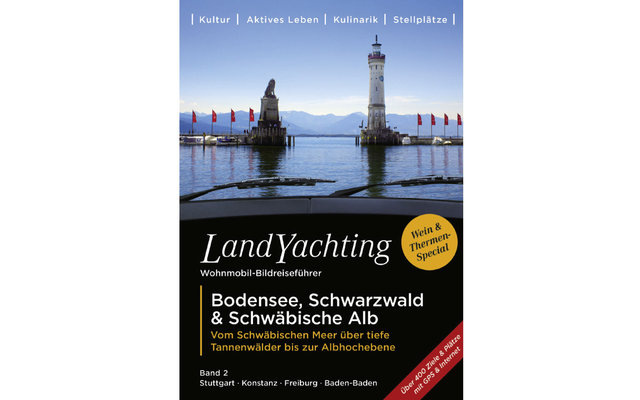Buch Landyachting Bodensee, Schwarzwald & Schwäbische Alb