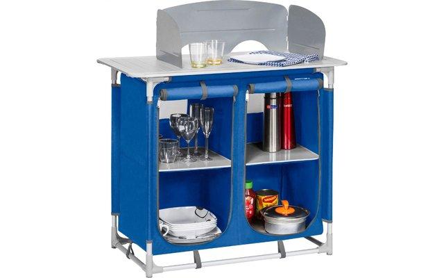 Berger Küchenbox 4 Fächer blau
