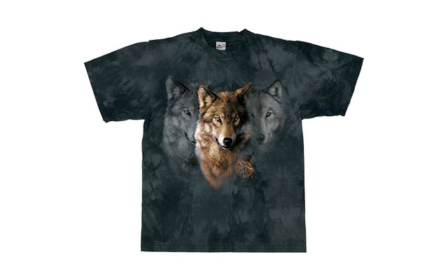 Harlequin Wolf Legend T-Shirt