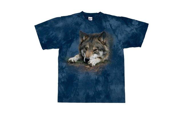 Harlequin Wolf Waiting Game T-Shirt