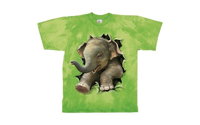 Harlequin Elephant Baby Kinder T-Shirt