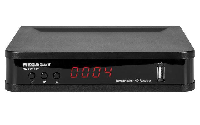 Megasat Receiver DVB-T2 HD 650 T2+