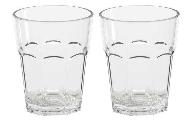 Unzerbrechliche Cocktailgläser 300 ml 2er-Set