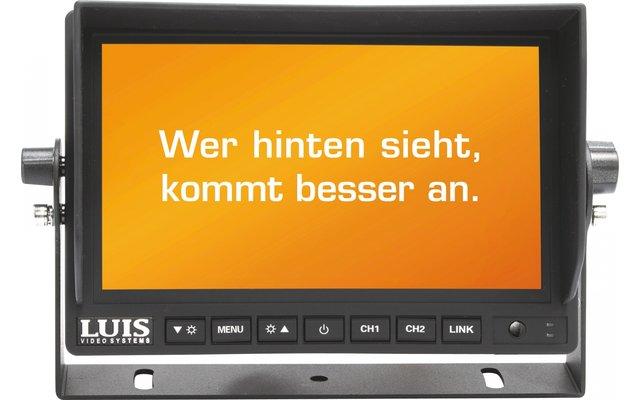 """Luis Professional Digitalfunk-Rückfahrsystem inkl. 7"""" Monitor"""