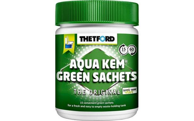 Thetford Aqua Kem Green Sachets 15 Tabs Sanitärzusatz