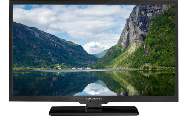 Alphatronics LED Fernseher SL-24 DSB+ K