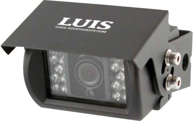 Luis Basic 130° Rückfahrkamera 12 - 24 V schwarz