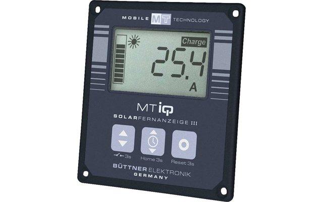 Büttner MT-Solar-Fernanzeige LCD III