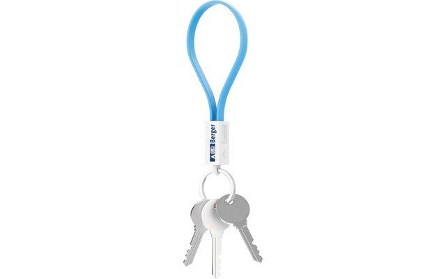 Berger Schlüsselanhänger Mini-Ladekabel USB zu Micro-USB
