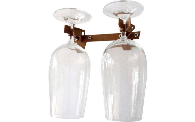 Doppelhalter Standard für 2 Gläser