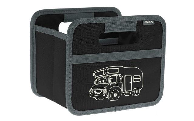Meori Faltbox Mini Travel Trailer Schwarz 1,8 Liter