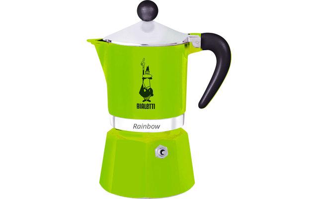 Bialetti Espressozubereiter Rainbow Grün 3 Tassen