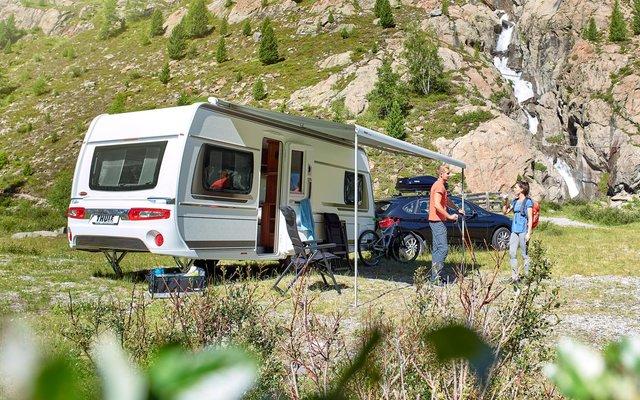 Thule Omnistor 6300 weiß 4,5 m grau Dachmarkise