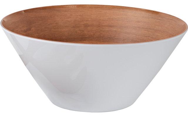 Gimex Melamin Salatschüssel Holzoptik