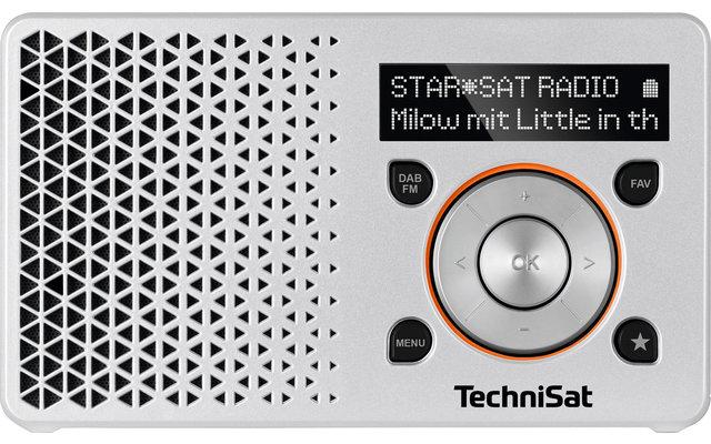 TechniSat DAB+ Digitradio 1 Tragbares Digitalradio mit integriertem Akku