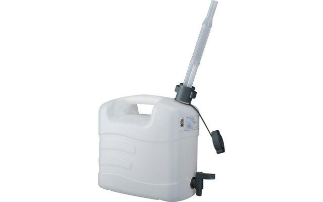 Pressol Wasserkanister weiß Auslaufhahn 10l
