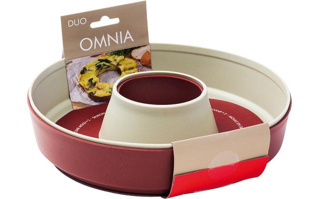 Omnia Silikonbackform Duo Pack für Campingbackofen