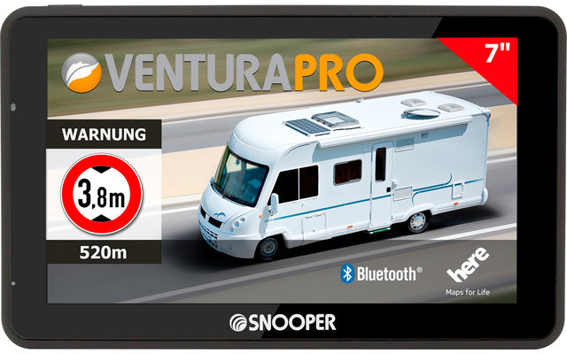 Snooper Ventura Pro S6900 Camper-Navigationssystem