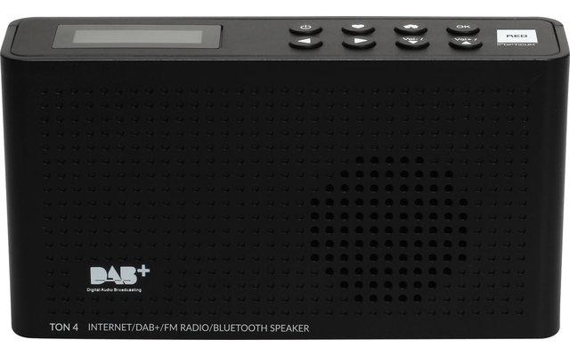 Opticum DAB+ Radio TON4 mit Internet und Bluetooth Schwarz