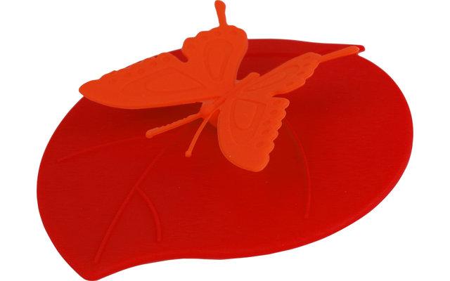Gimex Silikondeckel Butterfly für Gläser 4er Set