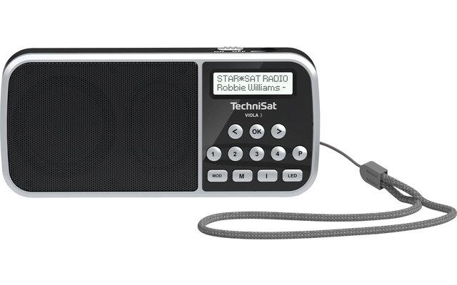 TechniSat DAB+ Viola 3 Portables Taschenradio mit LED-Taschenlampenfunktion