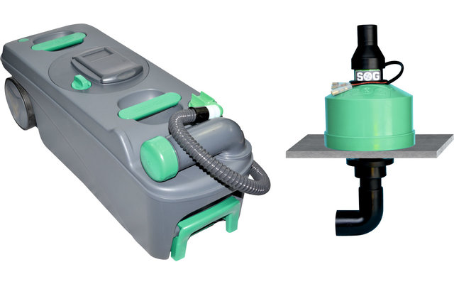 SOG II 12V Toilettenentlüftung Bodenvariante