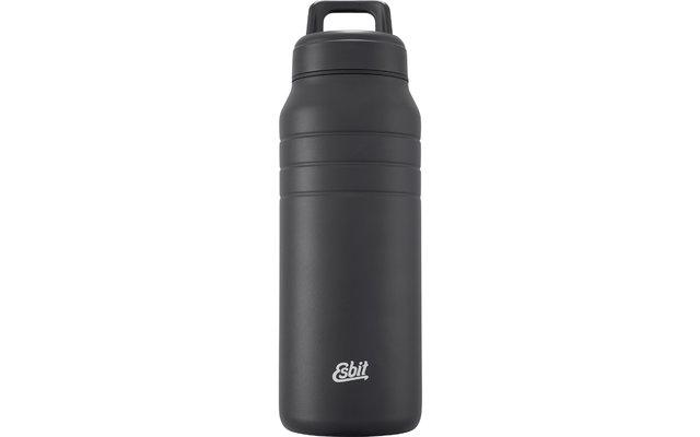 Esbit MAJORIS Edelstahl Isolierflasche schwarz 1000 ml