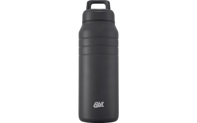 Esbit MAJORIS Edelstahl Isolierflasche schwarz 1 Liter