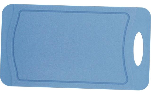 Steuber Schneidebrett mit Saftrinne 25x14 cm nordic blue