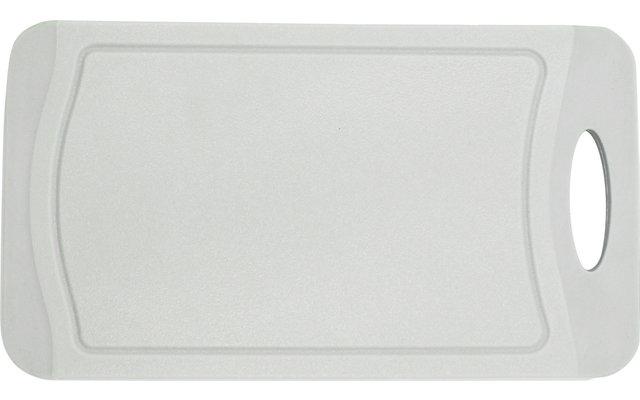 Steuber Schneidebrett mit Saftrinne 25x14 cm soft grey