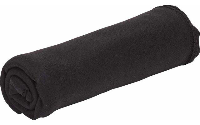 Berger Fleece-Decke 200x150 cm schwarz