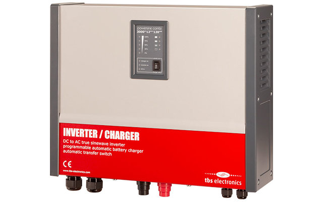 Powersine Combi Set 3000-12-120 Universal Control Wechselrichter 2600 W Dauerleistung