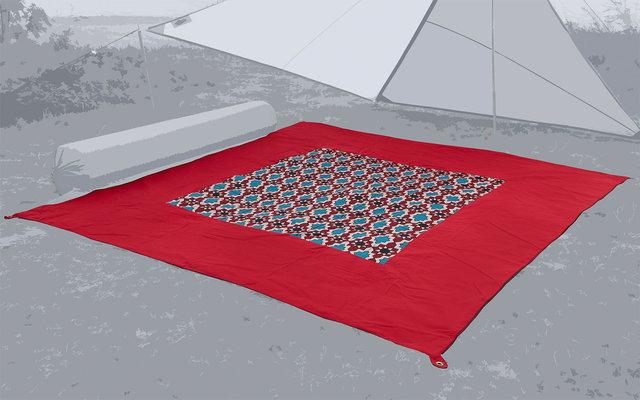 Bent Carpet Teppich Oriental red