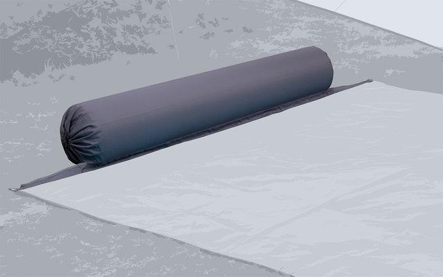 Bent XL-Lounger Aufblasbares Kissen steel grey